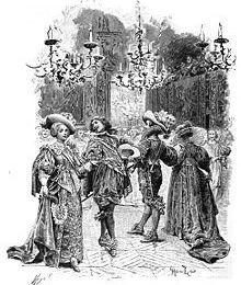 LES TROIS MOUSQUETAIRES - Ces quatre hommes, vont s'opposer au premier Ministre Richelieu