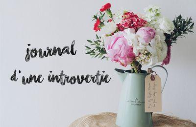 #Journal d'une introvertie (10)