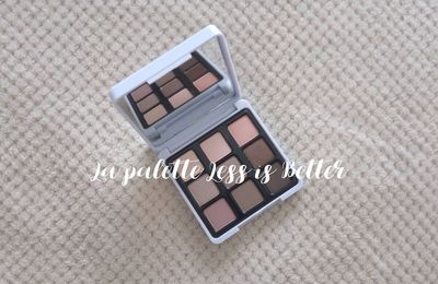 La palette #Less is Better