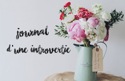 #Journal d'une introvertie (11)