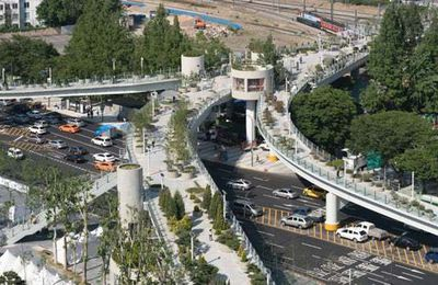 1970s highway starts new life as greenery-filled walkway