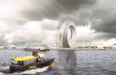 Amazing Dutch Windwheel is a green energy generator you can live in
