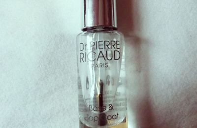 TEST #1 Top coat Dr Pierre Ricaud 💅