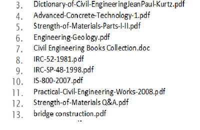 LIBARY CIVIL ENGINEERING