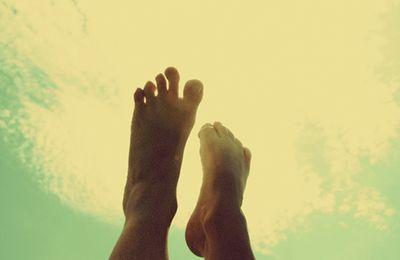 Le bonheur est dans le pied