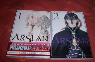 The heroic legend of Arslân tomes 1 & 2