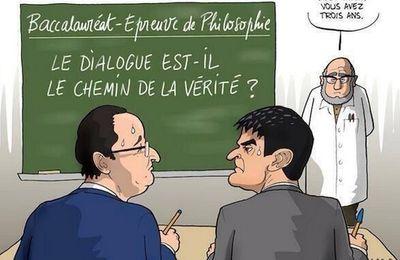 Quand Hollande et Valls s'affrontent au sommet de l'Etat