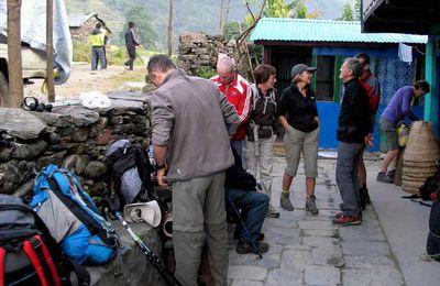 TREK DU MANASLU-NEPAL-1ère Etape -  ( Kathmandu - Bhaluswa)
