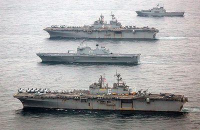 EE.UU. y Corea del Sur sacan músculo ante Pionyang en el mar de Japón