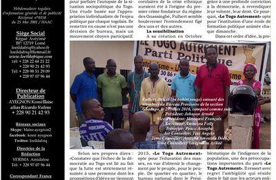 Cerner la psychologie d'un changement irréversible au Togo