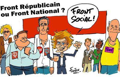 Front Républicain ou Front National ?