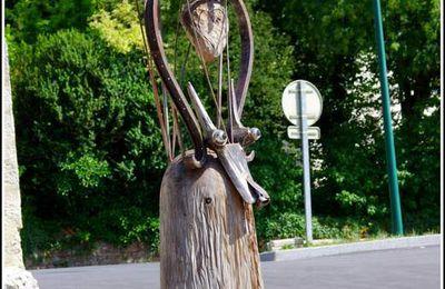 Statue la t'iote - Courtefontaine - Jura