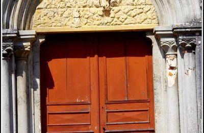 Porte - Église Notre-Dame - Courtefontaine - Jura