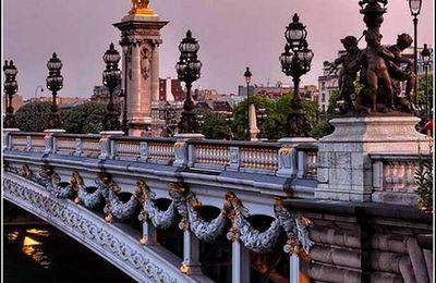 Paris - Le pont Alexandre-III