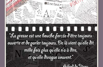 "Citation ""presse"" de Alfred de Vigny"
