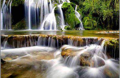 La cascade des tufs - Baume Les Messieurs - Jura