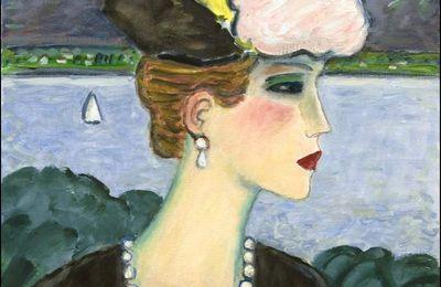 Femmes à chapeau par les grands peintres (324)