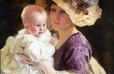Femmes à chapeau par les grands peintres (330)