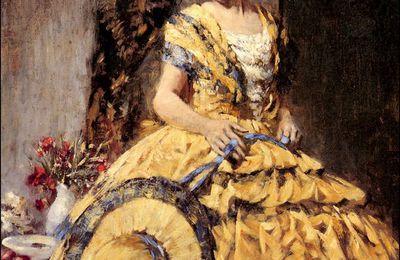 Femmes à chapeau par les grands peintres (332)