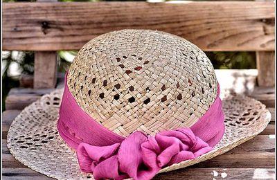 L'été - chapeau de paille