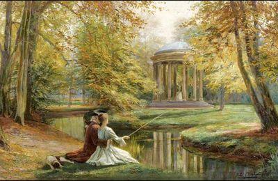Amoureux en peinture - Jules Girardet (1856-1946)
