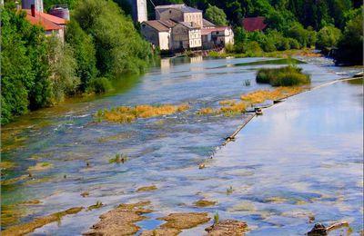L'Ain - Pont de Poitte - Jura - Les marmites du diable