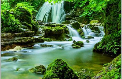 Cascades et chutes d'eau