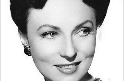 retro Agnes Moorehead (1900-1974) - actrice