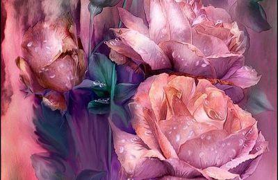Les fleurs par les grands peintres (76) - Carol Cavalaris