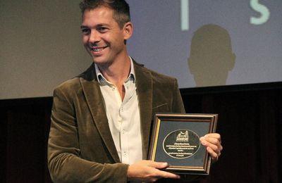 Romain Puértolas, lauréat du Prix Littéraire NDS 2016 des lycéens à Istanbul