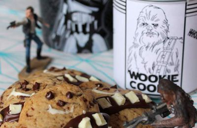 Des super Wookie Cookies parce que #WeLoveStarWars...