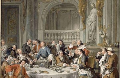 """""""Le déjeuner d'huitres"""" - Jean-François de Troy -"""