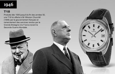 Les montres Lip de retour à Besançon après 25 ans d'absence