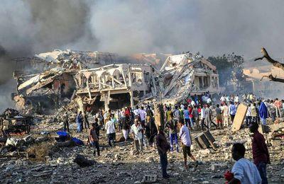 Somalie : près de 230 morts dans un double attentat à Mogadiscio