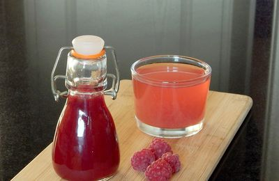 Sirop de framboise, version Thermomix