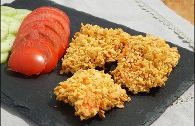 Nuggets de poulet panés aux corn-flakes