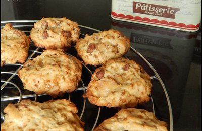 Cookies Poire - Chocolat  (recette Weight Watchers)