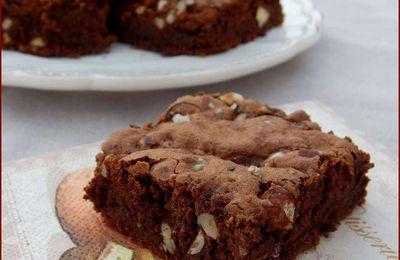 Brownies aux noix et aux courgettes