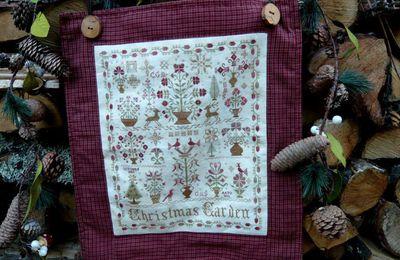 Bordando:Christmas Garden