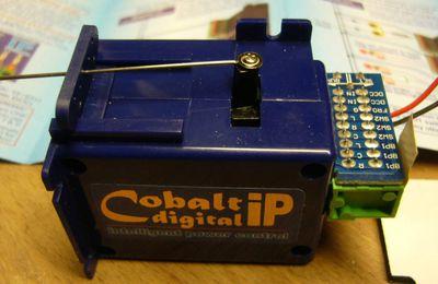 moteurs d'aiguillages COBALT DCC à mouvement lent