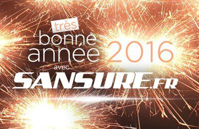 Très bonne année 2016 avec Sansure.fr ! #BonneAnnee