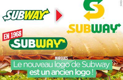 Le nouveau logo de Subway est un ancien logo ! #Subway