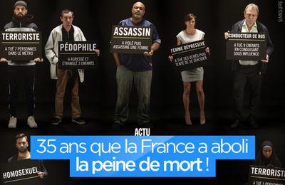 35 ans que la France a aboli la peine de mort ! #PeineDeMort