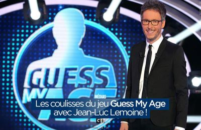 Les coulisses du jeu Guess My Age avec Jean-Luc Lemoine ! #GuessMyAge