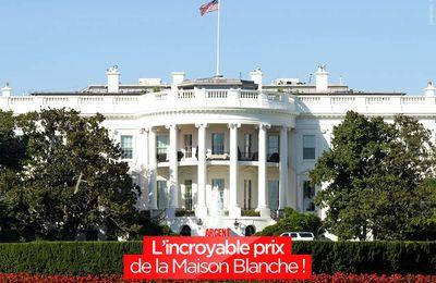 L'incroyable prix de la Maison Blanche ! #Trump