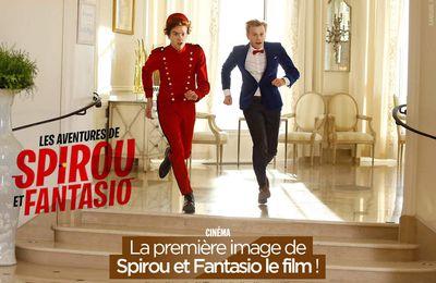 La première image de Spirou et Fantasio le film ! #SpirouEtFantasioLeFilm