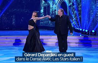 Gérard Depardieu en guest dans le Danse Avec Les Stars italien ! #DALS