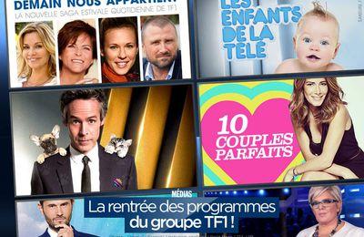 La rentrée des programmes du groupe TF1 ! #TF1