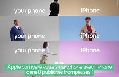 Apple compare votre smartphone avec l'iPhone dans 8 publicités trompeuses ! #iPhone
