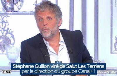Stéphane Guillon viré de Salut Les Terriens par la direction du groupe Canal+ ! #mercato